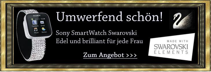 Sony SmartWatch Swarovski