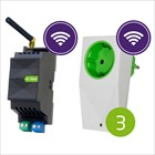 Loxone Air Starter Set - Base + 3 Smart Socket Air