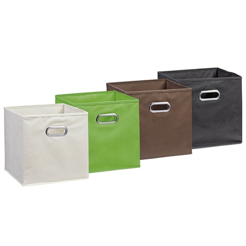 zeller aufbewahrungsbox pappe blau 33 x 38 x 30 cm ebay. Black Bedroom Furniture Sets. Home Design Ideas
